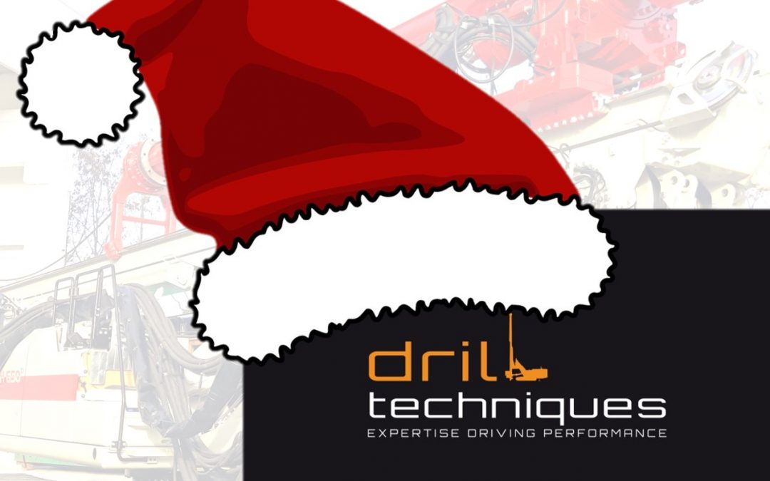 Merry Christmas and  Happy New Year from Drilltechniques