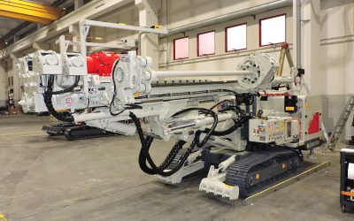 Brand New Comacchio Srl MC 12 micropiling & anchoring rig with 6 rod carousel