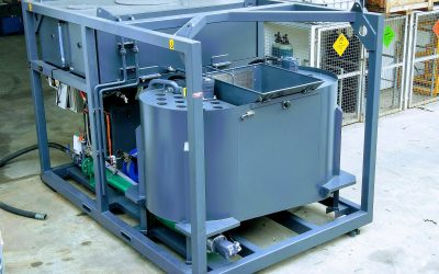 Prototype GM02 mixing and grout injection plant finishes final testing