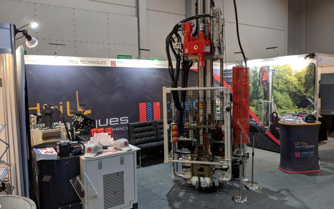 Displaying equipment at the Australian Drilling Industry Association (ADIA)